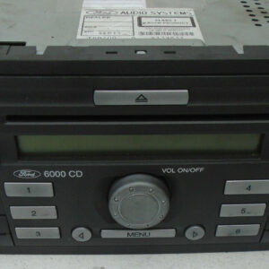 2006-2011 FORD FOCUS 1.6 PETROL CD RADIO PLAYER 6S6118C815AF/AG WITHOUT CODE