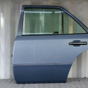 1985-1996 MERCEDES W124 300E 4DR SALOON N/S REAR DOOR WITH GLASS BLUE