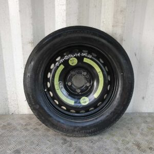 """12-17 VAUXHALL INSIGNIA 16"""" 5 STUD SPACE SAVER/SPARE WHEEL T125/90 R16 5.18MM"""
