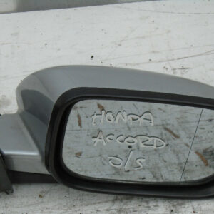 2004-2008 HONDA ACCORD 5DR O/S/F DRIVERS ELECTRIC WING MIRROR SILVER