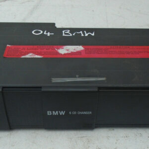 2002-2006 BMW E46 6 DISC CD CHANGER WITH MAGAZINE 65.12.8 161 584