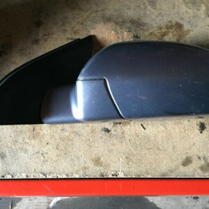 2002-2008 VAUXHALL VECTRA N/S FRONT PASSENGERS COMPLETE WING MIRROR SILVER