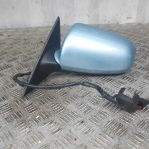 04-09 AUDI A3 MK2 5DR SPORTBACK N/S FRONT PASSENGERS ELECTRIC WING MIRROR BLUE