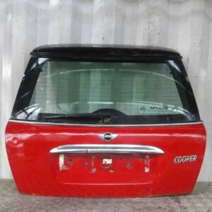 01-06 BMW MINI COOPER ONE R50 3DR HATCHBACK REAR TAILGATE BOOTLID CHILLI RED 851