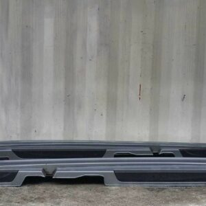 04-07 BMW 1 SERIES E81 E87 5DR HATCH SIDE SKIRT SILL COVER LEFT + RIGHT BLUE A18